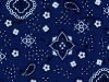 Cool Scarf:Bandana-royal-blue