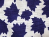 Cool Scarf: Navy Canadiana